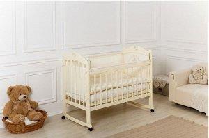 Кроватка Incanto Sofi, колесо-качалка, цвет слоновая кость