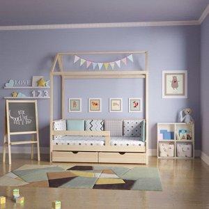 Кровать Домик Классика 160*80 без покраски