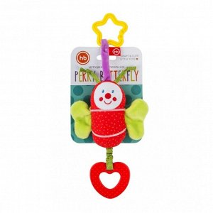 *Подвесная игрушка-колокольчик Happy Baby Бабочка