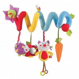 *Развивающая игрушка-спираль Happy Baby