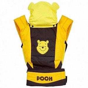 Рюкзак-кенгуру Polini kids Disney baby Медвежонок Винни и его друзья, с вышивкой, шоколад