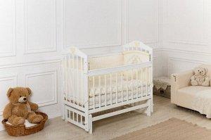 Кроватка Incanto Pali поперечный маятник, цвет белый