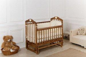 Кроватка Incanto Pali поперечный маятник, цвет орех