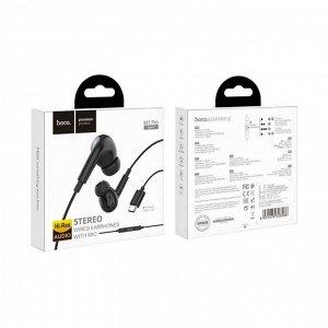 Наушники с микрофоном Hoco M1 Type-C, арт.012168