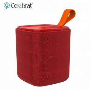 Портативная колонка Celebrat SP-4 Красный, арт.012234