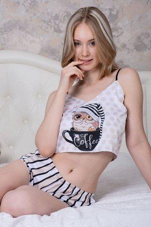 Пижама шелковая 10297