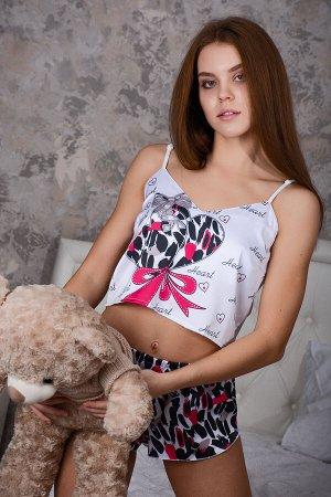Пижама шелковая 10296