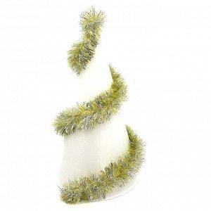 Мишура Мишура придаст праздничной атмосфере,те финальные штрихи, которые делают композицию законченной, придавая ей нарядный и эффектный вид.  Длина 165 см. Диаметр 8 см.