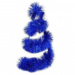 Мишура Мишура придаст праздничной атмосфере,те финальные штрихи, которые делают композицию законченной, придавая ей нарядный и эффектный вид.   Длина 200 см. Диаметр 15 см.