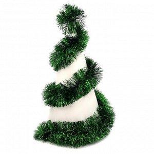 Мишура Мишура придаст праздничной атмосфере,те финальные штрихи, которые делают композицию законченной, придавая ей нарядный и эффектный вид.   Длина 205 см. Диаметр 12 см.