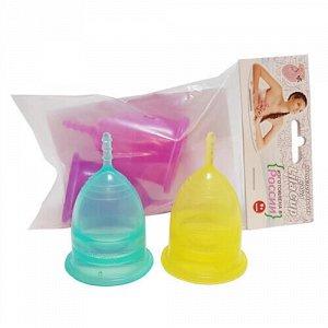 Набор менструальных чаш, размеры L и L LilaCup