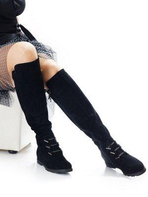 Сапоги Страна производитель: Китай Размер женской обуви x: 37 Полнота обуви: Тип «F» или «Fx» Сезон: Зима Вид обуви: Сапоги Материал верха: Замша Материал подкладки: Натуральный мех Материал подошвы:
