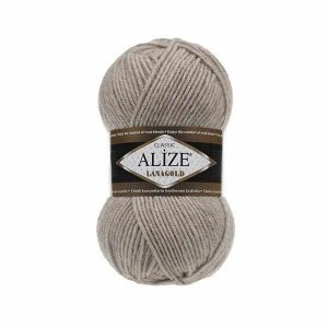 Пряжа для вязания Alize Lanagold Ализе Ланаголд цвет 152