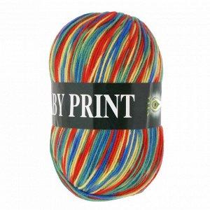 Пряжа Vita Baby Print  Вита Беби Принт цвет 4882