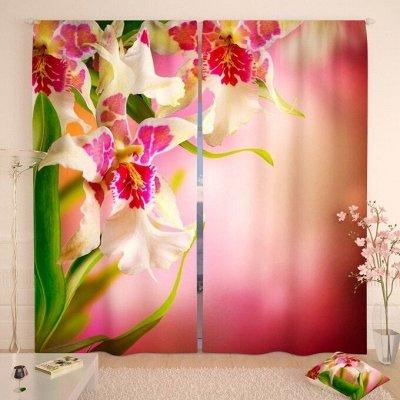 Фотошторы, фототюль и домашний текстиль с фотопечатью — Фотошторы: Цветы