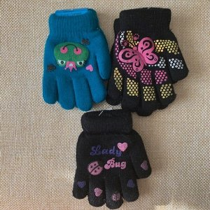 Перчатки двойные 3-6лет