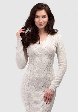 Платье с широкой косой