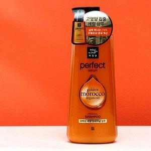 Шампунь для повреждённых волос Perfect Serum Shampoo Golden Morocco Argan Oil, 680 мл