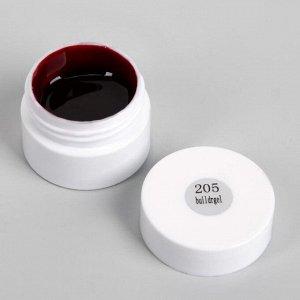 Гель-лак для ногтей (для стемпинга) 3-х фазный LED/UV 8гр 205 борд