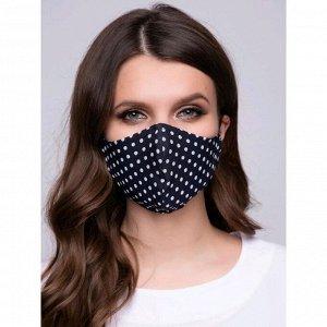Защитная маска «Горошек», размер 42
