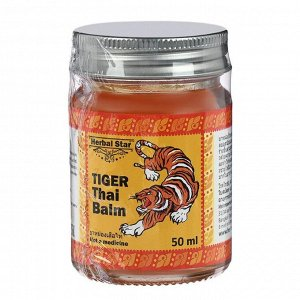 Тайский бальзам Herbal Star «Тигр», 50 мл,