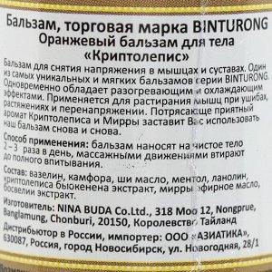Бальзам для снятия напряжения в мышцах и суставах Binturong «Криптолепис», 50 г