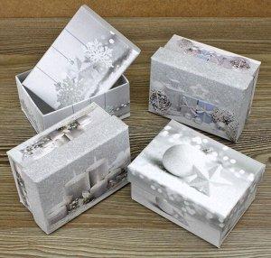 """Коробка (прямоугольник) """"Новый Год"""" (дизайн в ассортименте)"""