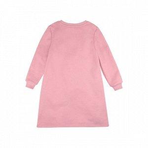 Платье Количество в упаковке: 1; Артикул: BN-155З20-462; Цвет: Розовый; Ткань: Футер с начесом; Состав: 100% Хлопок; Цвет: Розовый Скачать таблицу размеров