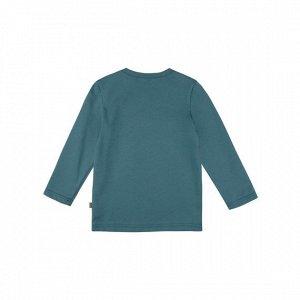 Лонгслив Количество в упаковке: 1; Артикул: BN-557З20-161; Цвет: Голубой; Ткань: Кулирка; Состав: 100% Хлопок; Цвет: Морская волна Скачать таблицу размеров
