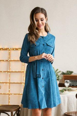 Платье 450/4, бирюзовый