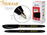 Ручка гелевая, цвет чернил - черный, черный корпус. Производство - Россия.