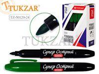 Маркер перманентный КРАСНЫЙ, супер острый наконечник, 2,5 мм, Производство Россия.