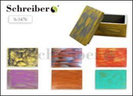 Шкатулка из пенопласта ЦВЕТНАЯ, 9.5*15*8.5см (ш*д*в), толщина стенок 1см, цвета в асоортименте