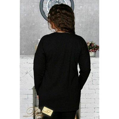 DRESS37 - доверяем трикотажу! От 42 до 66 размера — Блузки — Блузы