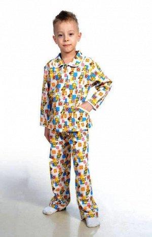 новая Пижама для мальчика, фланель