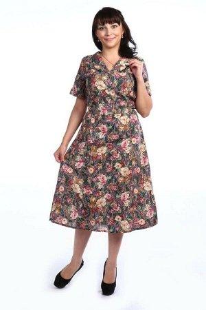 Платье женское, модель 125, бязь, 62-70 размер (Фелиция)