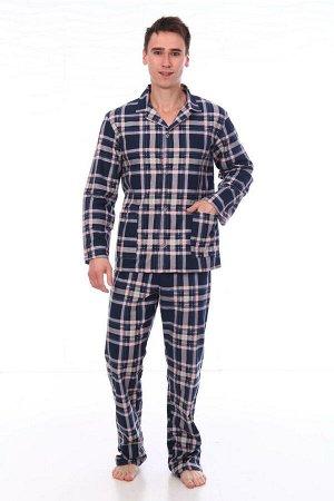Пижама мужская,модель203,фланель (Алваро, вид 5)
