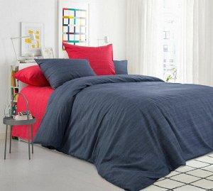 Комплект постельного белья Евромакси, перкаль (Бушующий вулкан)