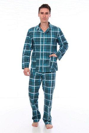 Пижама мужская,модель203,фланель (Клаудио, вид 3)