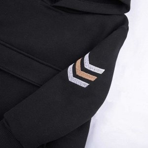 Худи Количество в упаковке: 1; Артикул: BN-180З20-462; Цвет: Чёрный; Ткань: Футер с начесом; Состав: 100% Хлопок; Цвет: Чёрный   Чёрный Скачать таблицу размеров