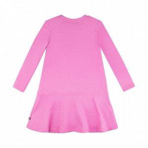 Платье Количество в упаковке: 1; Артикул: BN-128О20-461-Р; Цвет: Розовый; Ткань: Футер 3-х нитка; Состав: 100% Хлопок; Цвет: Розовый Скачать таблицу размеров