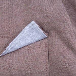Худи Количество в упаковке: 1; Артикул: BN-180З20-492; Цвет: Светло-коричневый; Ткань: Футер с начесом; Состав: 60%хлопок,40% полиэстер; Цвет: Коричневый | Светло-коричневый Скачать таблицу размеров