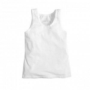 Майка Количество в упаковке: 1; Артикул: BN-238К-157; Цвет: Белый; Ткань: Кулирка с лайкрой; Состав: 95% хлопок, 5% лайкра; Цвет: Белый Скачать таблицу размеров