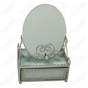 Зеркало со шкатулкой «Акварель»