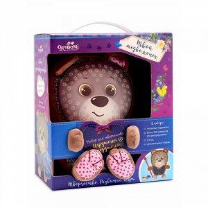 """Подушечка-игрушечка """"Узоры из плюша"""" Твой медвежонок"""