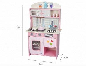Игрушка деревянная Кухня с аксесс, кор.66,5*22,5*37 см *