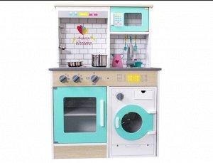 Игрушка деревянная Кухня с аксесс, кор.77*49*12  см *
