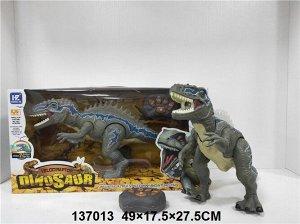 Динозавр р/у, свет, звук, кор.49*17,5*27,5 см