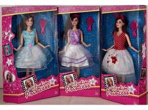 Кукла с подвижными суставами, в ассорт, кор.19,5*5,5*34 см