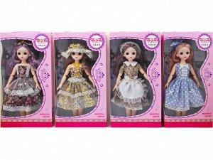Кукла с подвижными суставами, в ассорт., кор.18*6*23 см